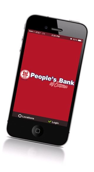 Mobile Banking at People's Bank of Seneca